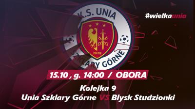 Mecz o mistrzostwo klasy B grupy 2 przeciwko drużynie Błysk Studzionki