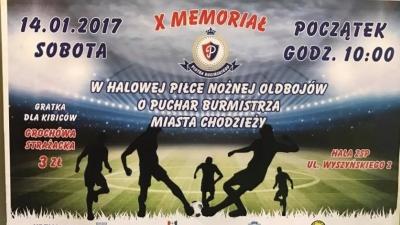 II miejsce Oldbojów Pogoni Połczyn-Zdrój w X Memoriale Piotra Rucińskiego!