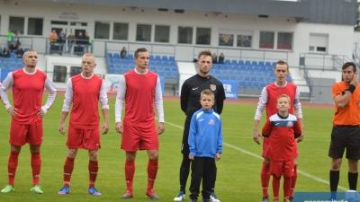 Piłkarze Kujawianki po pierwszym treningu