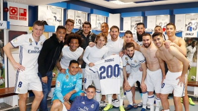 Jubiläen für Real Madrid Modrić