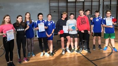 Igrzyska Młodzieży Szkolnej - tenis stołowy