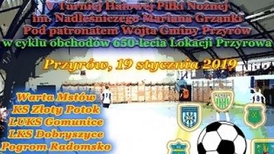 V Turniej Halowy Piłki Nożnej im. Nadleśniczego Mariana Grzanki