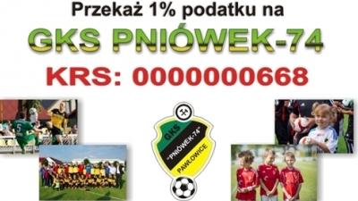 """1% podatku dla GKS """"PNIÓWEK 74"""""""