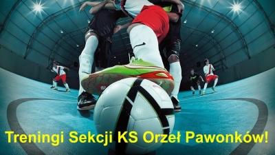Treningi Sekcji KS Orzeł Pawonków!