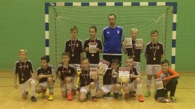 E1 ORLIK I 1 miejsce w halowym turnieju w Knurowie
