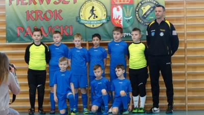 Podium rocznika 2007 w turnieju Pierwszy Krok Pałucki!