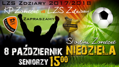 Zapowiedź 12 Kolejki: KP Zarzecze - LZS Zdziary.