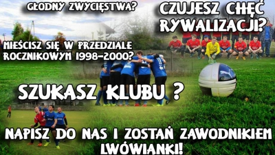 Nabór zawodników do drużyny JUNIORSKIEJ U-19.