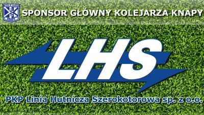 LHS głównym sponsorem Kolejarza Knapy