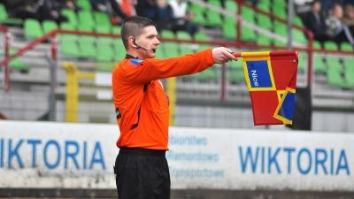 Rafał Podlewski arbitrem meczu z Włocłavią