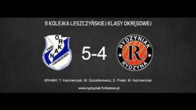 Porażka z liderem po bardzo dobrym meczu. Orkan Chorzemin 5-4 4P4S Rydzyniak Rydzyna.