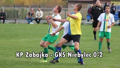 KP Zabajka - GKS Niebylec 0-2