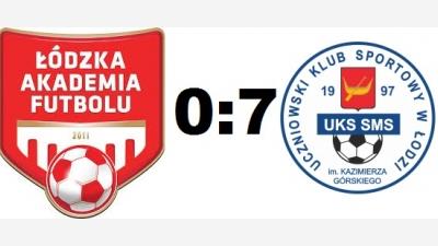 ŁAF 2006 Kadra B - SMS Łódź 0-7 (0-6)