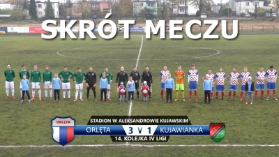 VIDEO: Skrót meczu Orlęta 3:1 Kujawianka Izbica Kujawska