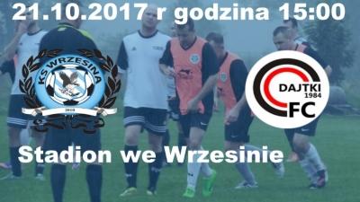 X Kolejka: KS Euro-Car Wrzesina - FC II Dajtki Olsztyn
