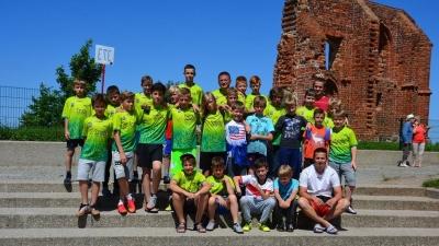 Letni obóz piłkarski Salos Toruń w Trzęsaczu.