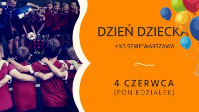 Dzień Dziecka z KS SEMP Warszawa