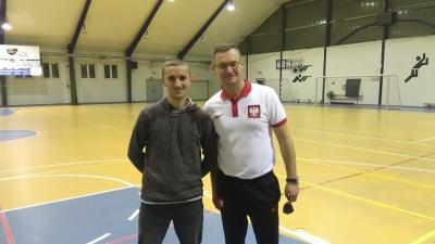 Trener naszego klubu na warsztatach szkoleniowych organizowanych przez KOZPN