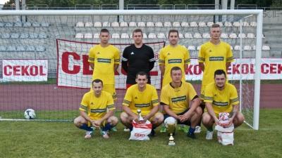 """CASTORAMA Racibórz zwycięża turniej piłki nożnej """"CEKOL CUP 2017"""" - GRATULUJEMY!!"""