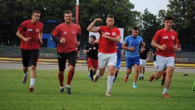 Biało-czerwoni po pierwszym treningu