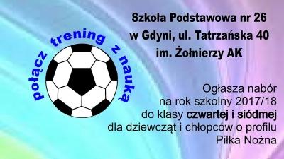 KLASA SPORTOWA Akademii Piłkarskiej KP Gdynia