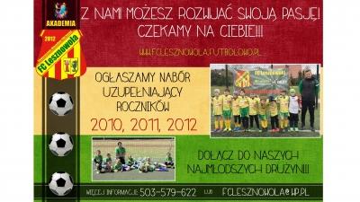 Nabór rocznika 2010/2011/2012
