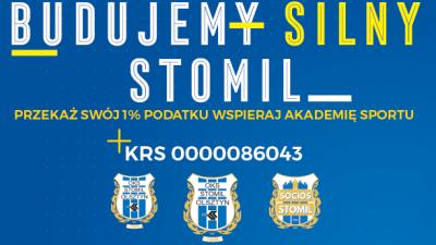 1% podatku na Akademię Sportu Stomil Olsztyn