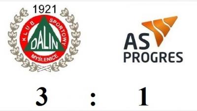 Wygrana Dalinu w meczu sparingowym z AS Progres