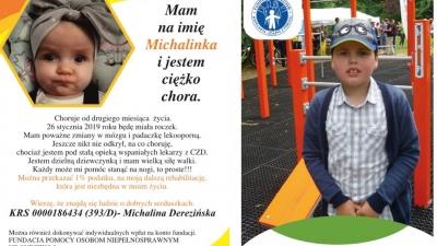 1% podatku dla Michaliny i Wiktora