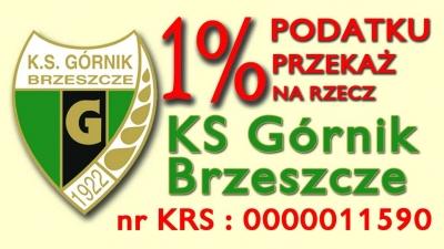 1% dla Górnika Brzeszcze