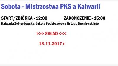 Sobotni turniej w Kalwarii/