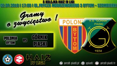 Zapowiedź: Polonia Bytom - Górnik Piaski