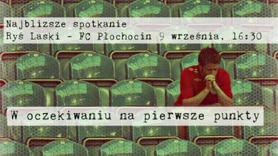 Najbliższe spotkanie Ryś Laski - FC Płochocin 9 września, 16:30