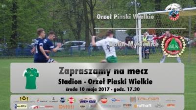 Orzel Piaski Wielkie - Dalin Myślenice, zaległy mecz II kolejki.