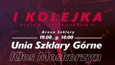 Mecz o mistrzostwo klasy B grupy 2 przeciwko drużynie Kłos Moskorzyn