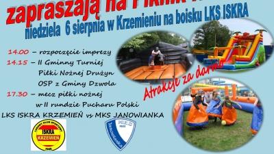 Piknik rodzinny oraz Puchar Polski