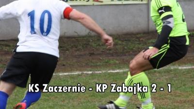 KS Zaczernie - KP Zabajka 2-1