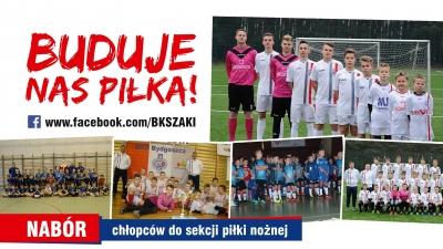 Nabór najmłodszych do drużyn piłkarskich