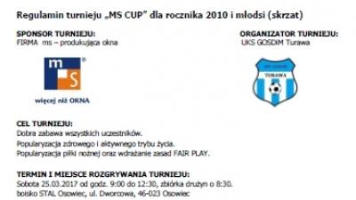 regulamin turnieju w Osowcu