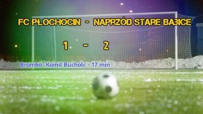 FC Płochocin  1 - 2    Naprzód Stare Babice (Sparing)