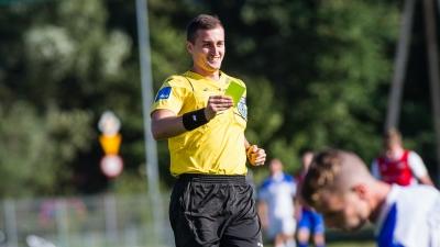 Piotr Szypuła sędzią finału Pucharu Polski Podokręgu Bielsko-Biała
