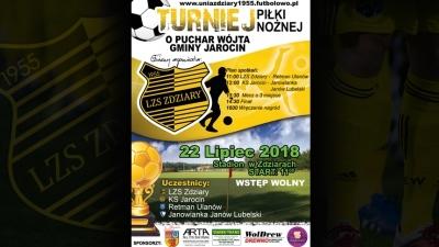 Turniej o Puchar Wójta Gminy Jarocin.