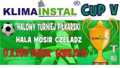 Zagraj w KLIMAINSTAL CUP V !
