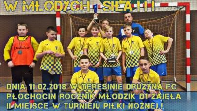 II Miejsce drużyny FC Płochocin na turnieju w Teresinie!