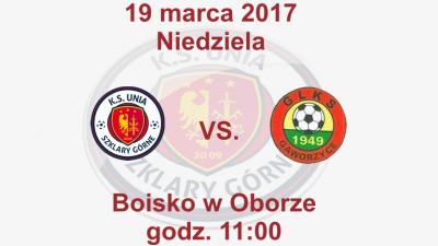 Mecz o mistrzostwo klasy B grupy 2 przeciwko drużynie GLKS Gaworzyce