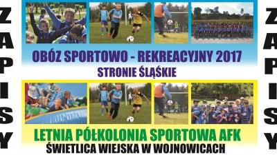 Lato 2017 - obóz i półkolonie!