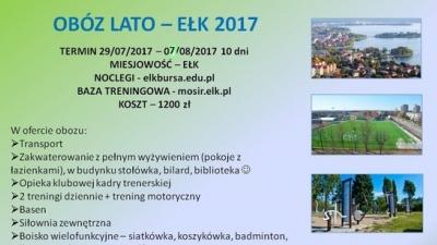 Obóz lato - Ełk