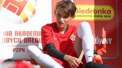 Udany debiut Dominika Krajewskiego w kadrze Polski U-14