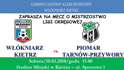 Zapowiedź: Włókniarz Kietrz - Piomar Tarnów-Przywory