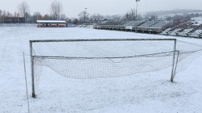 Z powodu śniegu dużej ilości futbol w tym roku w A Klasie już nie zagości